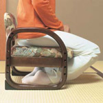 【アイデア雑貨】思いやり座敷椅子