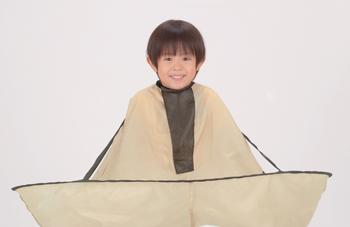 【アイデア雑貨】ジャンボ散髪マント