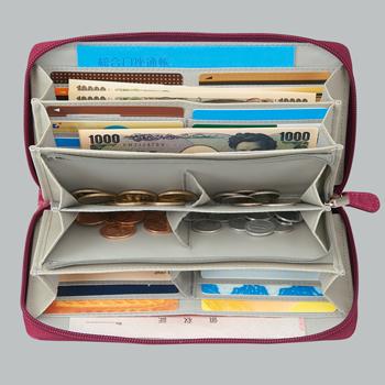 【アイデア雑貨】36カードたっぷり仕分け財布
