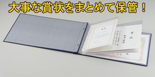 【アイデア雑貨】賞状ファイル(手もみ風)