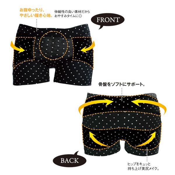 【アイデア商品】おやすみ美整パンツ