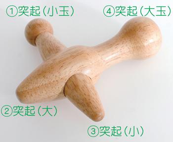 【アイデア雑貨】クロス型ポイントきゅう