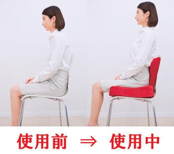 【アイデア雑貨】3D姿勢シャキット
