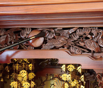 【アイデア商品】奥まで届く仏壇ブラシ