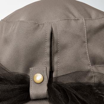 【アイデア雑貨】涼やか虫除けガーデニングUV帽子