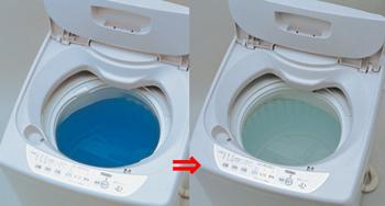 【アイデア雑貨】袋ごと洗濯槽ヤシ油クリーン