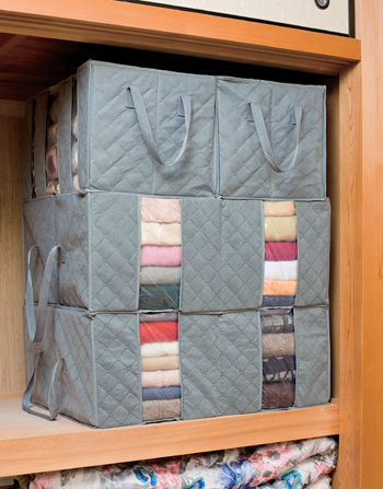 【アイデア雑貨】竹炭衣類整理袋